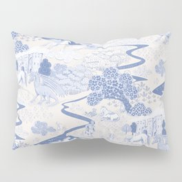 Mythical Creatures Toile Pillow Sham
