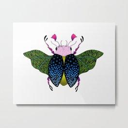 Beetle #1 Color Metal Print