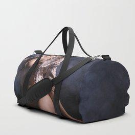 Nude Beautiful Sexy Woman Duffle Bag