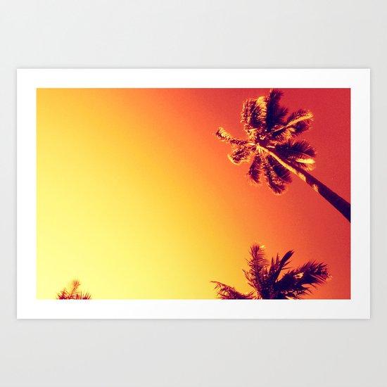 Tropic Haze Art Print