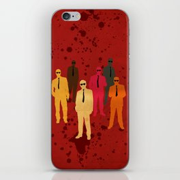 Six Angry Dogs iPhone Skin