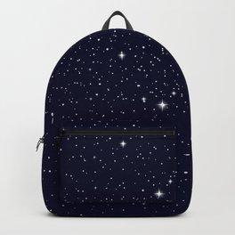 Blue Galaxy stars Backpack
