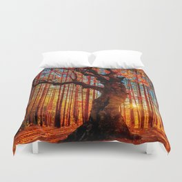 Majestic woods Duvet Cover