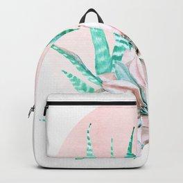 Desert Cactus Succulent Backpack