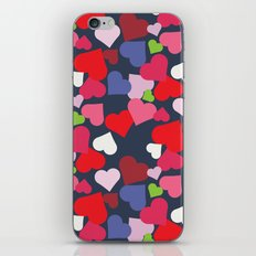 queen of hearts I iPhone & iPod Skin