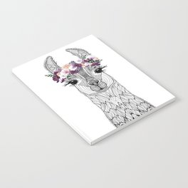 FLOWER GIRL ALPACA Notebook