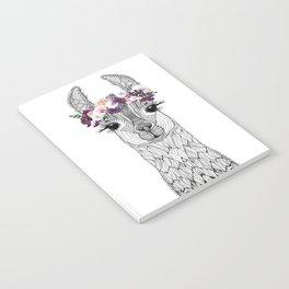 FLOWER GIRL ALPACA Notebook