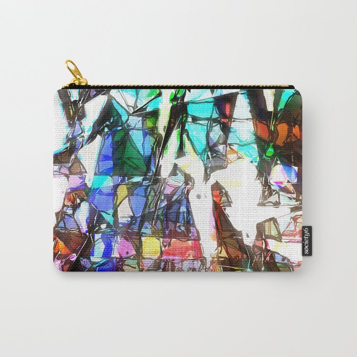 Light Streaming Through Stained Glass Carry-All Pouch