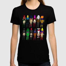 Superheroine Butts T-Shirt