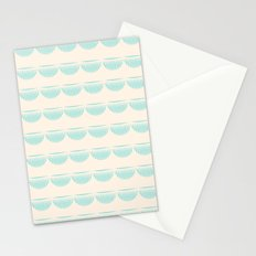 half moons Stationery Cards