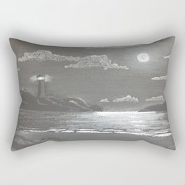 Quiet Night Rectangular Pillow