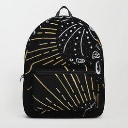 Solar Eclipse Illustration Backpack