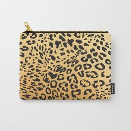 Leopard Texture Carry-All Pouch