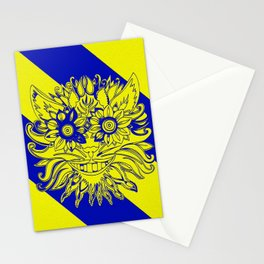 Mystic Yellow Stationery Cards