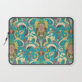 boho rococo turquoise Laptop Sleeve