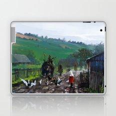 1920 - road blockade Laptop & iPad Skin