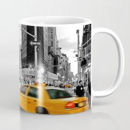 NYC - Yellow Cabs - FlatIron Coffee Mug