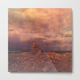 Remnants of an ancient civilization Metal Print