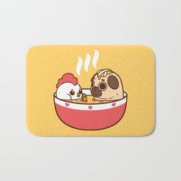 Chicken Noodle Puglie Soup Bath Mat