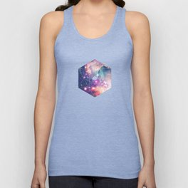 The Universe under the Microscope (Magellanic Cloud) Unisex Tank Top