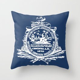 flag of Charleston Throw Pillow