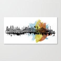 Long City Canvas Print