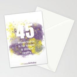 AgeIsJustANumber-45-PurpleThunderA Stationery Cards