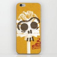 toilet iPhone & iPod Skins featuring Toilet Brush by YONIL