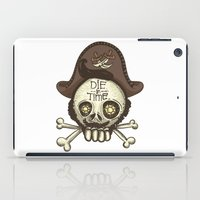 pirate iPad Cases featuring pirate by adi katz