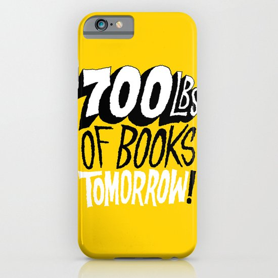 700lbs of Books Tomorrow! iPhone & iPod Case