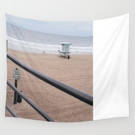 The Rails of Sand Wall Tapestry