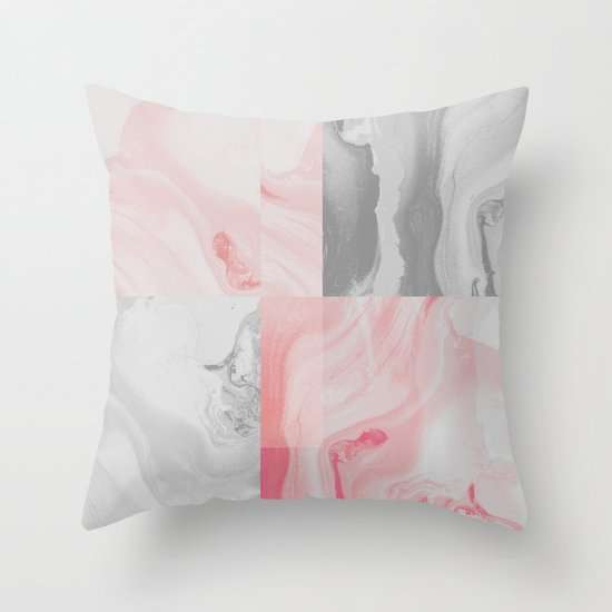 beautiful imperfection Throw Pillow