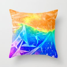 Aurora 3 - Sunrise Throw Pillow