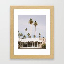 Canyon, Palm Springs Framed Art Print