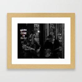 Music City Buskers Framed Art Print