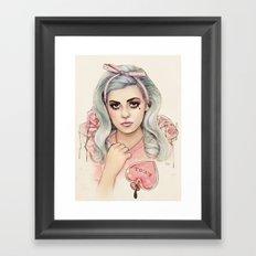 L.O.V.E | E.V.O.L Framed Art Print