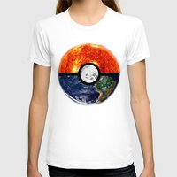 pokeball T-shirts featuring Galaxy Pokeball by Advocate Designs