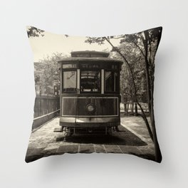 Streetcar Named Desire - New Orleans 1988 Throw Pillow
