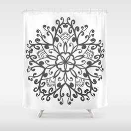 A Beautiful Star with a Pattern style Fashion Modern Design Print! Shower Curtain