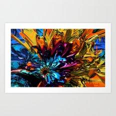 A Little Splash of Color Art Print