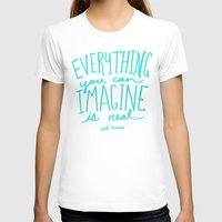 picasso T-shirts featuring Picasso: Imagine by Leah Flores