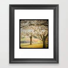 Taking a Mental Picture Framed Art Print
