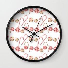 Christmas sweets Wall Clock