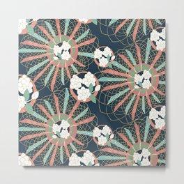 Gardenia art deco Metal Print