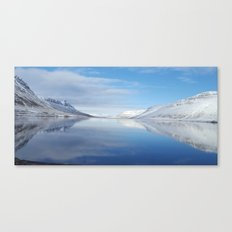 Iceland reflections Canvas Print