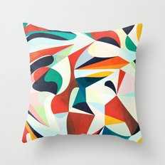More Red Throw Pillow