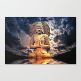 The Buddha Canvas Print