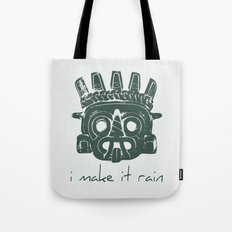 Tlaloc, Supreme God Of The Rains Tote Bag