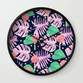 Summer print Wall Clock