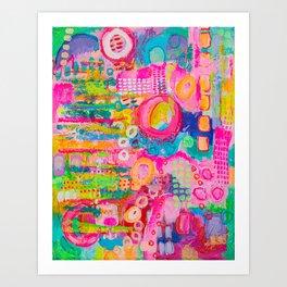 I Pink So! Art Print